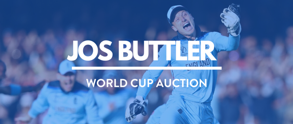 Jos Buttler auctions World Cup shirt to raise money for our Covid-19 Emergency Appeal