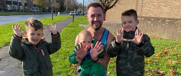 "Lawrence's Story – ""I am forever grateful to the wonderful staff at the Brompton and if it wasn't for them, I wouldn't have gone on to have 3 healthy wonderful sons"""