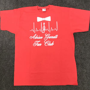 Adrian Garratt Fan Club T-Shirt - Red