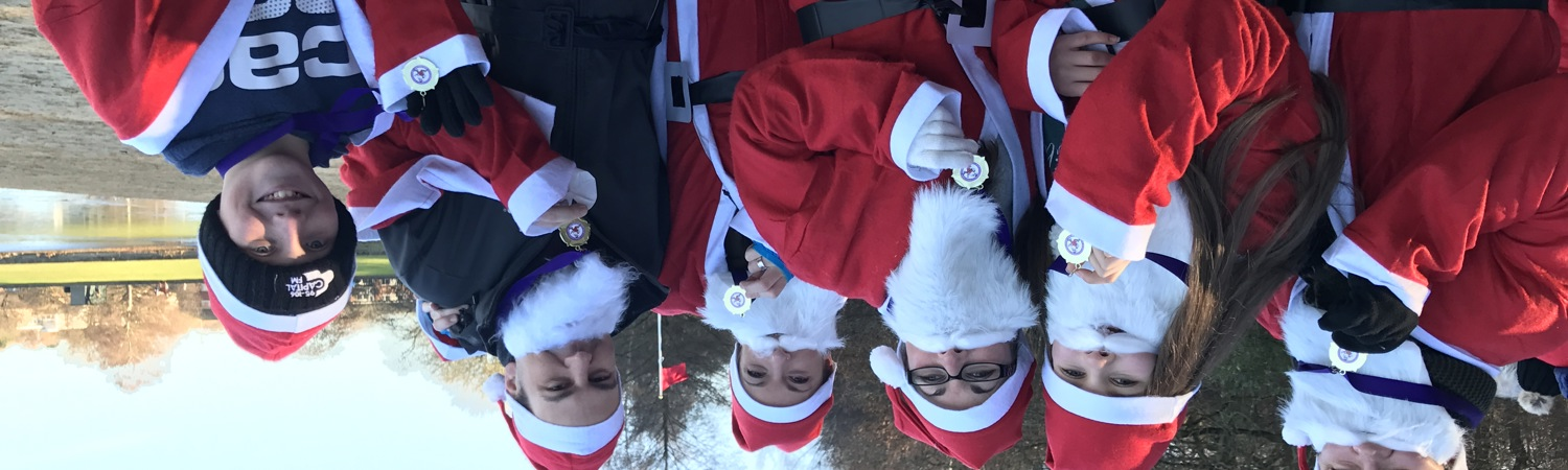 Santa Dashers raise £9,600 for Harefield's Intensive Care Unit