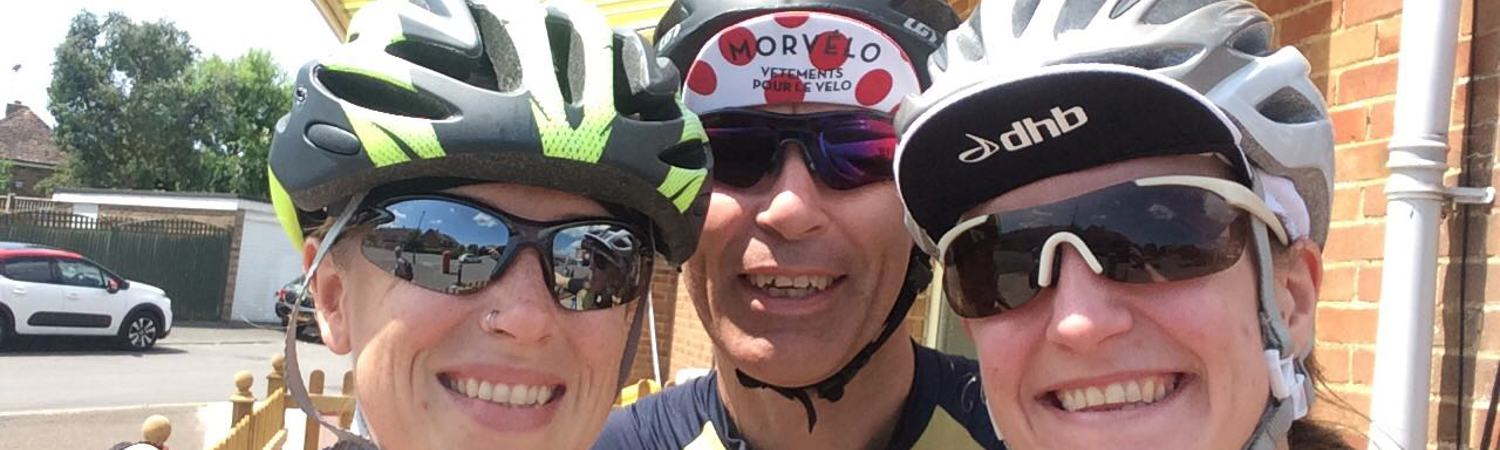 Team Happy Hearts 100mile Cycle To Keep Hearts Pumping!